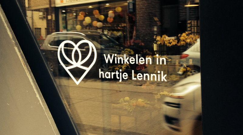 Winkelen in hartje Lennik